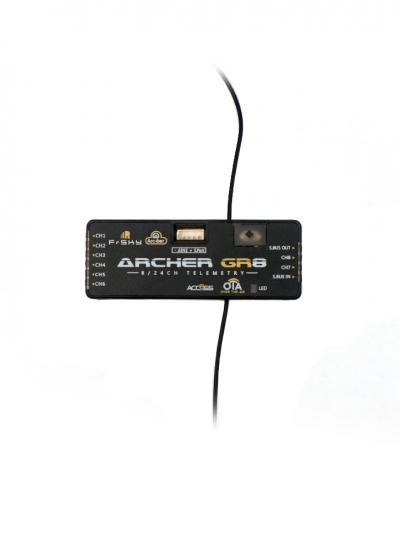 FrSky Archer GR8 2.4GHz Receiver with Vario Sensor - ACCESS Protocol
