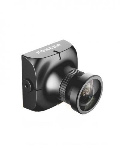 Foxeer HS1177 V2 600TVL FPV CCD Camera with 2.8mm Lens - Black