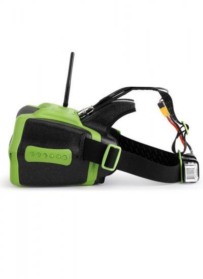 HeadPlay SE FPV Headset (V2) with 40CH Rx, HDMI, DVR and RHO Lens