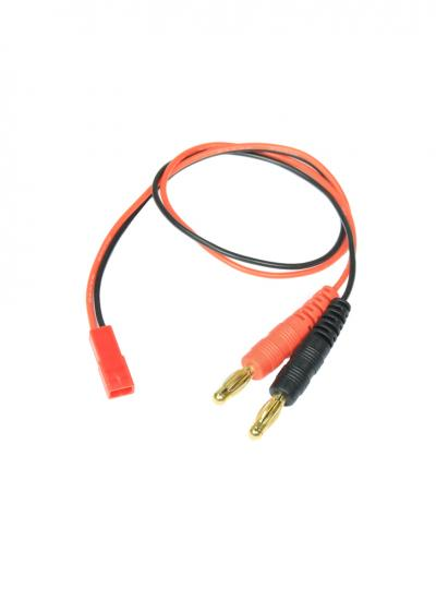 LiPo Charge Lead Adapter Female JST to 4mm Banana Plug