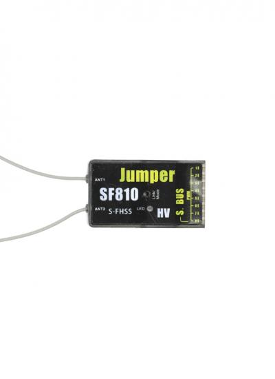 Jumper SF810 8CH Full Range S-FHSS PWM Receiver with SBUS