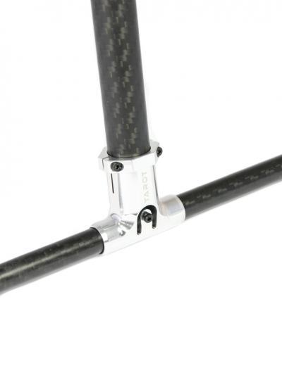 Tarot 16mm/10mm Aluminium Landing Skid T Piece Pair TL68B45