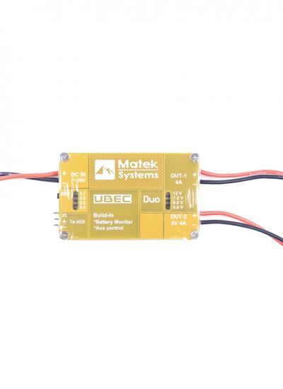 Matek UBEC DUO with Aux Control