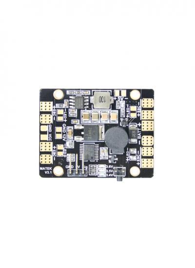Matek 5 in 1 LED & Power Hub V3 PDB with 5/12V BEC & Buzzer