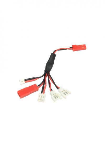 Multi-Plug Charge Lead For Micro Batteries (Walkera/NE/Pico/E-Flite/JST)