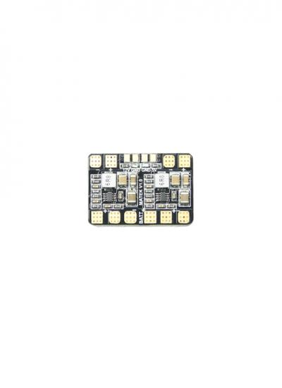 Matek Micro Quad PDB with 5V & 12V BEC Outputs (32x22mm)