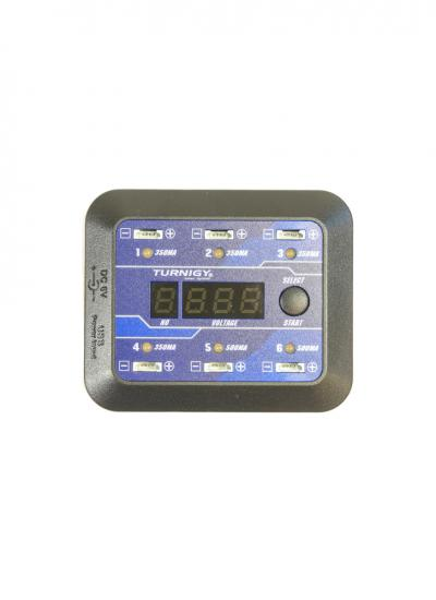 Turnigy USB Mirco-6 Battery Charger for 6x 1-Cell LiPo