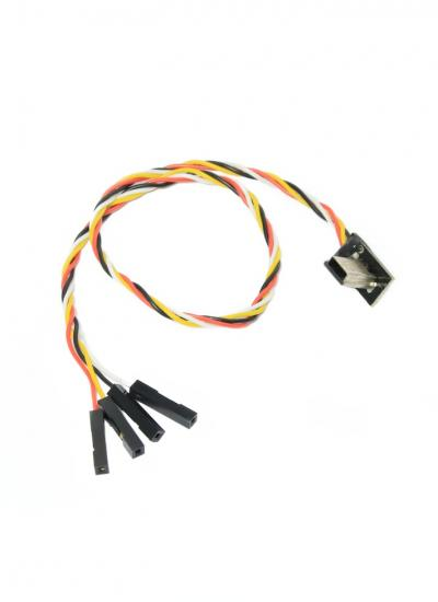 Super Slim Mobius ActionCam AV Out / Power Cable for FPV