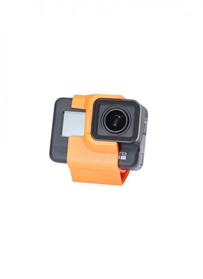 Racing Drone Tilted Camera Mount for GoPro 5/6/7 (30 Degree) - Orange