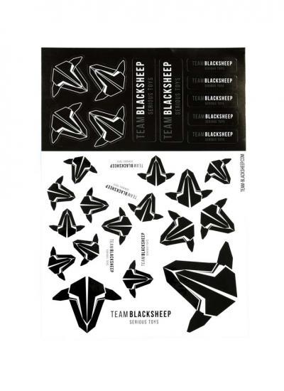 Team Black Sheep TBS Sticker Sheet (Version B)