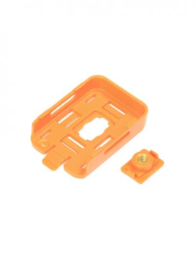 RunCam 2 Camera Mounting Sleeve With Threaded Insert - Orange