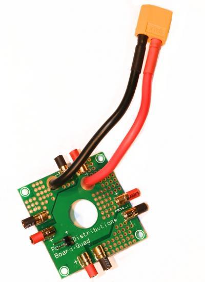 A quadcopter PDB