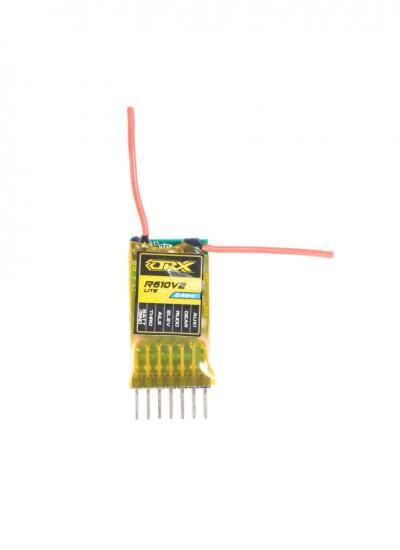 OrangeRx R610V2 Uncased 2.4GHz DSM2 Compatible 6CH Receiver w/CPPM