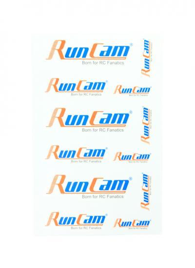 RunCam Sticker Sheet