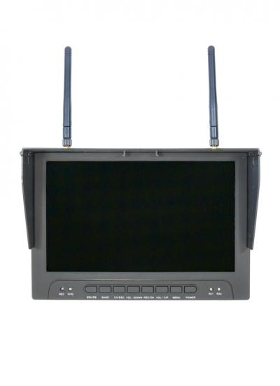 Skyzone RC900 9inch Monitor with 40CH RaceBand Diversity Receiver, DVR, HDMI Input & Built in Battery