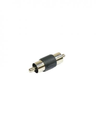 RCA Male to Male AV Cable Joiner Converter Adapter
