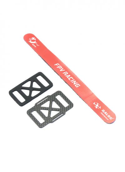 DalRC Racing Drone Anti-Slip Battery Mount and Strap