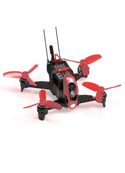 Bundle B Walkera Rodeo 110 Indoor FPV Drone with DEVO7 Radio (RTF)