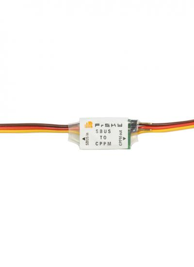 FrSky SBUS to CPPM Signal Converter with Pins