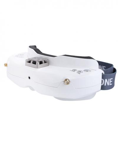 Skyzone SKY02X 5.8GHz 48CH Diversity FPV Goggles with Support for 2D / 3D, DVR, Head Tracking & HDMI Input