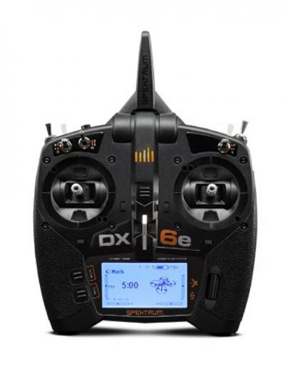 Spektrum DX6E 6CH Transmitter & AR610 2.4GHz Receiver (EU)