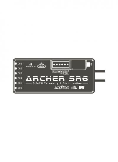 FrSky 2.4GHz ACCESS Archer SR6 Receiver with Stabilisation