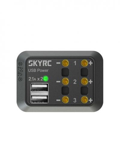 SkyRC 10A DC Power Distributor 3x DC Output + 2x USB