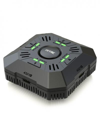 SkyRC e4Q 4 Channel AC Multi Charger 5A 2-4S LiPo