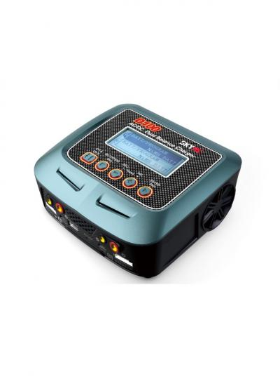 SkyRC D100 AC/DC Multifunctional Dual Balance Charger 100W 10A 2-6S