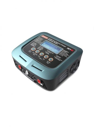 SkyRC D200 AC/DC 200W 20A 2-6S Dual Charger w/ Soldering Iron