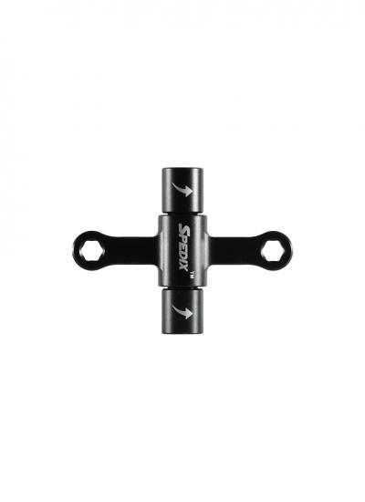 Spedix Quad Wrench with One-Way Bearings