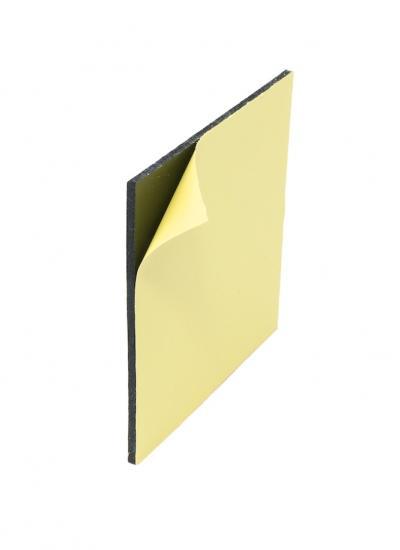 Peel and Stick Adhesive Foam 125x125x4mm