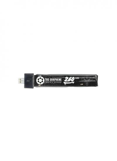 TBS Graphene 260mAh 1S LiHV 30~60C LiPo Battery with JST-PH2.0 Connector