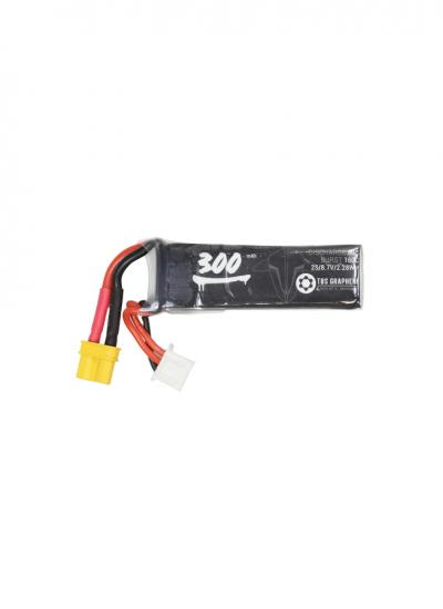 TBS Graphene 2S LiHV 300mAh 80~160C LiPo Battery XT30