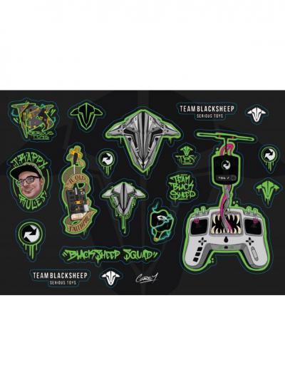 TBS Sticker Sheet - Corey (19 Stickers)