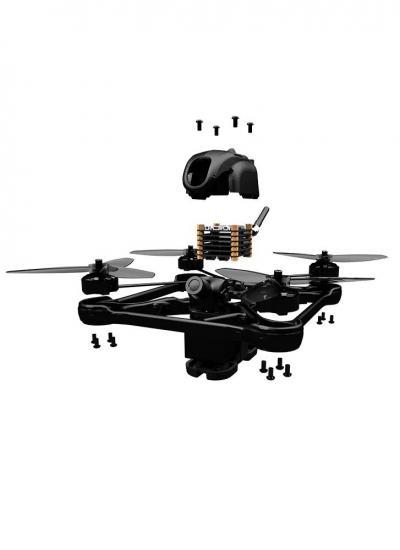 TBS Oblivion UniBody FPV Racing Drone - PNP