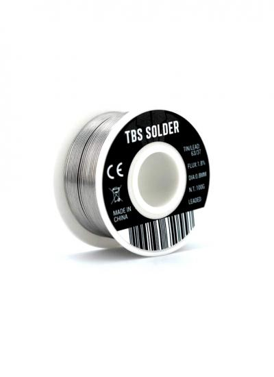 TBS Multicore 63/37 Rosin Core Solder Wire Real - 100gm