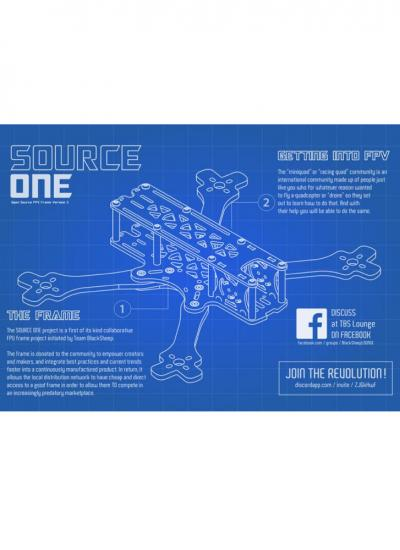 TBS Source One V3 5inch Racing Drone Frame