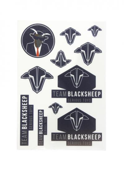 Team Black Sheep TBS Sticker Sheet