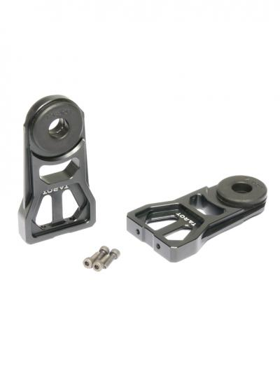 Tarot 10-12mm Lengthened Tube Clamp with Shock Absorbing Rubber Damper - 2Pcs TL8X007