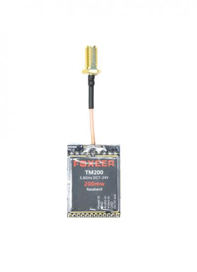 200mW Foxeer TM200 5.8Ghz Race Band VTX (Pigtail SMA)