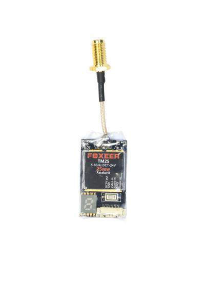25mW Foxeer TM25 5.8Ghz Race Band VTX - UK Legal (Pigtail SMA)