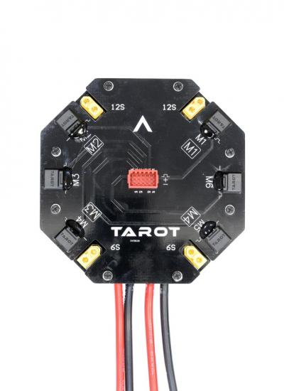 Tarot High Current Heavy lift Quad Hexa PDB Signal Hub 12S 480A - TL2996