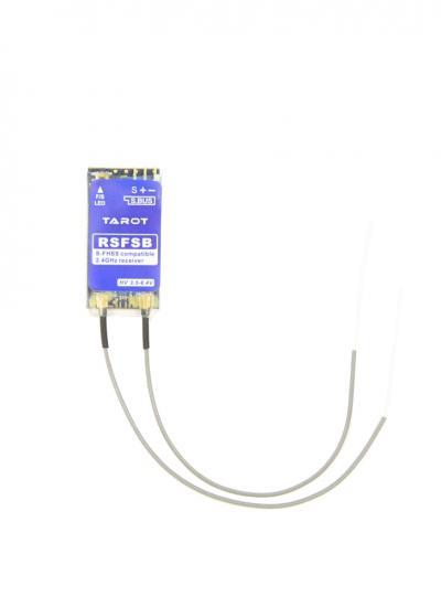 Tarot RSFSB Micro 2.4Ghz 8CH Futaba S-FHSS / FHSS Compatible SBUS Receiver