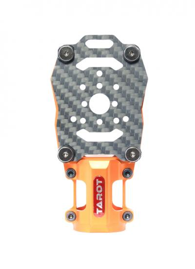 Tarot 25mm Anti-vibration Aluminium Motor Mount Orange TL96028