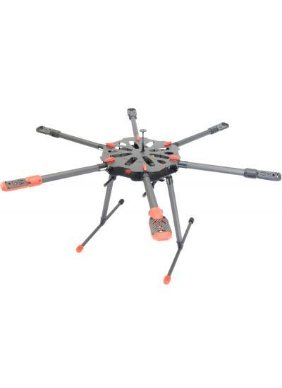Tarot X6 Carbon Fibre Foldable Hexacopter Frame - TL6X001