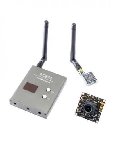 UK Legal FPV Bundle Set - Camera, 25mW Tx, Rx
