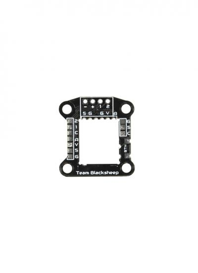 TBS WhitenoiseFPV Nano-Nano TBS Unify / Crossfire 20X20 Mounting Board