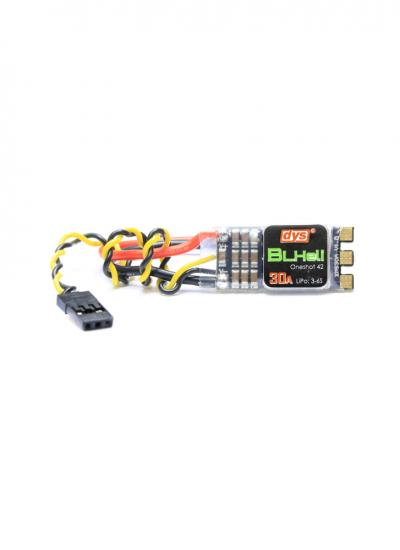 DYS XM30A BLHeli 3-6S 30A ESC OPTO with Solder Pads & Case
