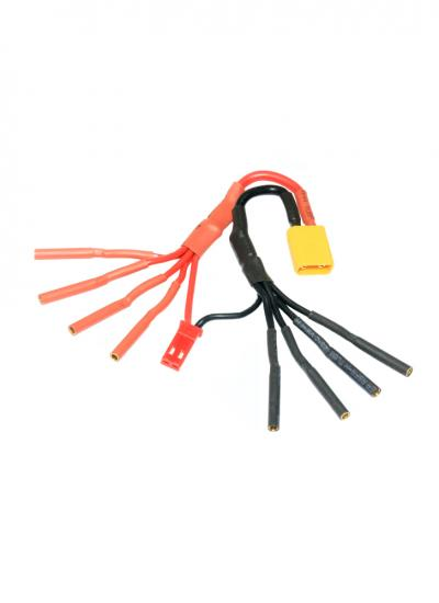 XT30 to 4 X 2mm Female Bullet ESC Power Breakout Cable - ideal for 250 Racing Quads
